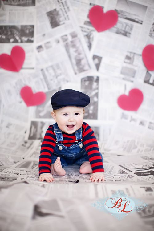 baby boy Valentine picture. Get some #love #names ideas.