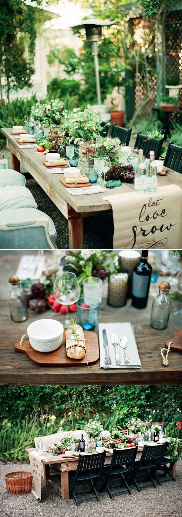 gorgeous woodland farm wedding table ideas
