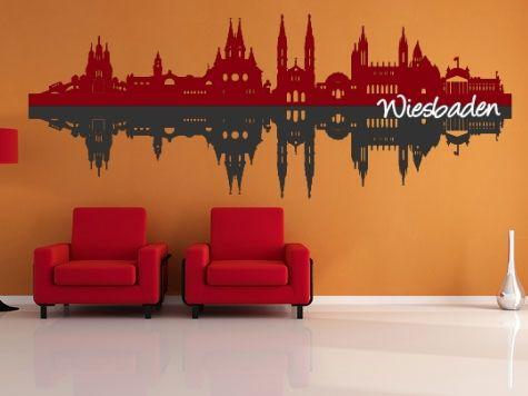 Marvelous Wandtattoo SL Wiesbaden mehrfarbig