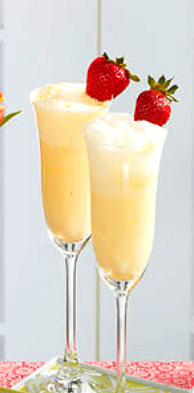Creamsicle Mimosa, fun beverage for a morning brunch and can be made without alcohol.