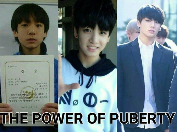 Waiting for puberty to hit me as hard as it hit jungkook