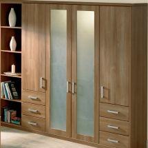 Glazed Full Height Wardrobe Doors - By BA Components