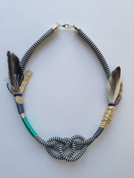 Pocahontas feathered necklace turquoise on Etsy, $79.00 AUD