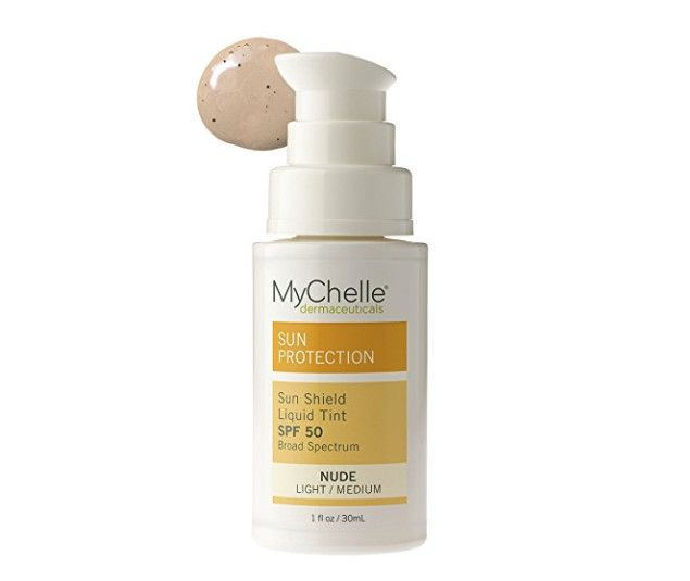 MyChelle Sun Shield Liquid Tint SPF 50 - Amazon Beauty Products Every Lazy Girl Needs - Photos