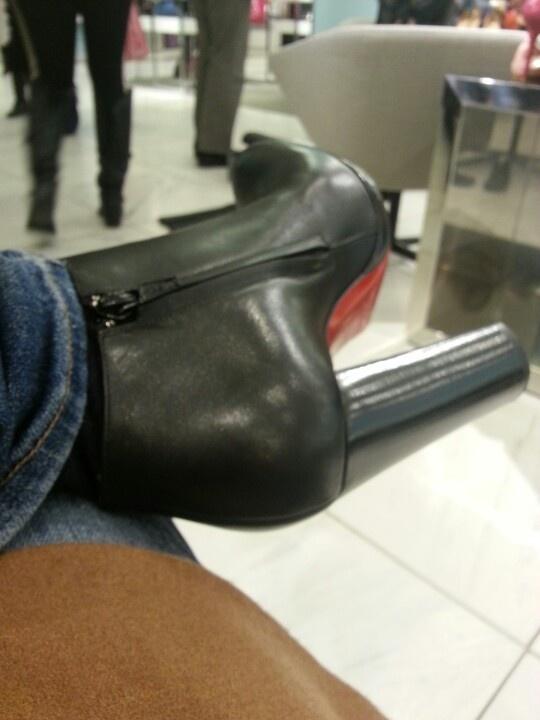 When life brings you down. Wear heels