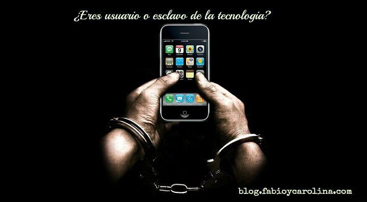 ¿usuario o esclavo de la tecnologia?, fabio y Carolina, Re-evoluciona tu mundo, es tiempo de cambiar, carolina y fabio