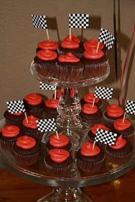 cars cupcake theme