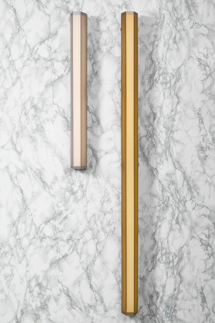 Bathroom lights bathroom wall lights artemis 900 rounded led strip - Branch Sconce By Rich Brilliant And Willing In Brooklyn Available In Two Sizes Inspired Hallway Lightingbathroom