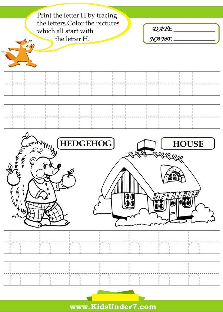 17 best ideas about letter h worksheets on pinterest letter h activities kindergarten english. Black Bedroom Furniture Sets. Home Design Ideas
