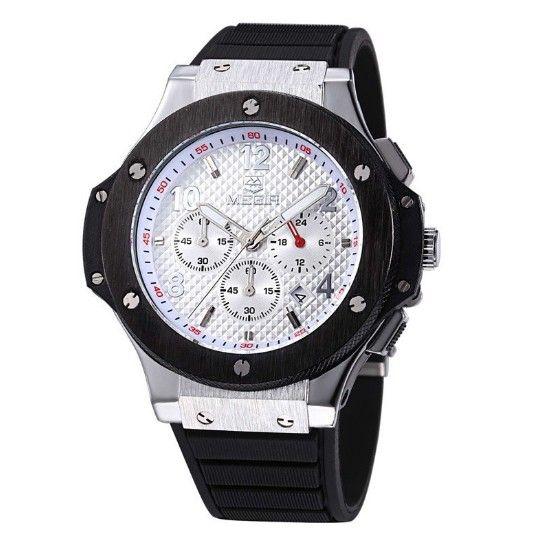 Pánské luxusní hodinky MEGIR ve stříbrném barevném provedení – pánské hodinky Na tento produkt se vztahuje nejen zajímavá sleva, ale také poštovné zdarma! Využij této výhodné nabídky a ušetři na poštovném, stejně jako to udělalo …