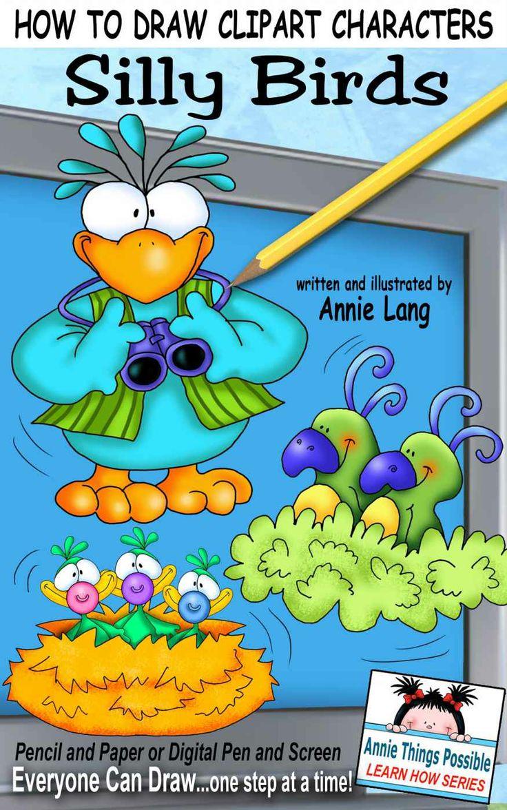 Amazon.com: Como Dibujar Personajes prediseñada: Tonto Aves (Annie Cosas Posible Aprende Series) Libro-e: Annie Lang: Kindle Store