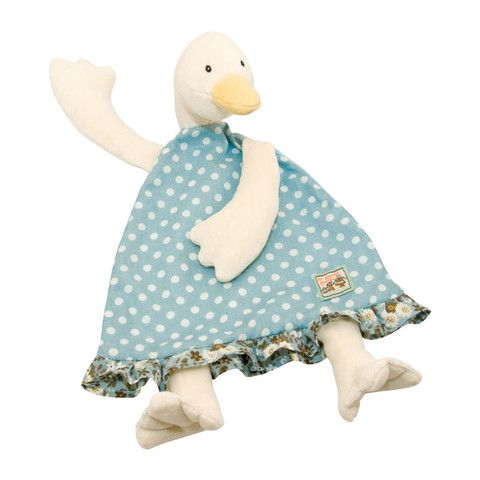 Jeanne the Duck Baby Comforter from Moulin Roty