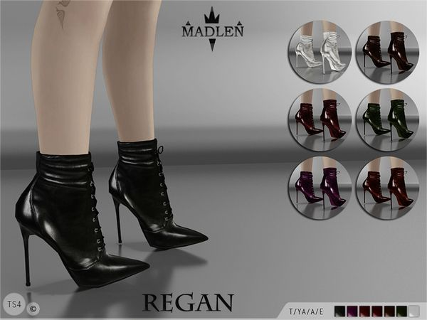 The Sims Resource: Madlen Regan Boots by MJ95 • Sims 4 Downloads