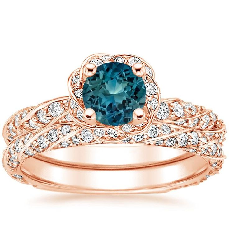 Best 25 Teal Engagement Ring Ideas On Pinterest Green