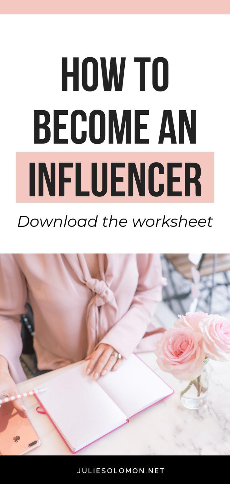 How To an Influencer Influencer marketing, How to