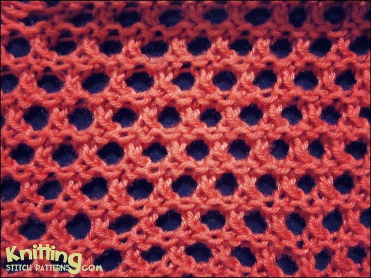 Open Mesh Knitting Stitches : 17 basta bilder om Knitting - Patterns pa Pinterest Stygn, Garter stitch oc...