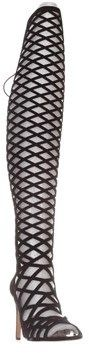 Vince Camuto Keliana Over-the-knee Caged Boots, Black.