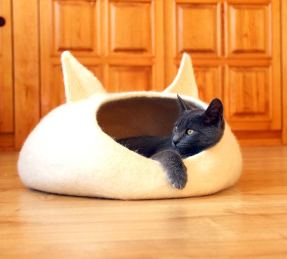 Best 25 cat beds ideas on pinterest diy cat bed cat for Kitty corner bed ideas