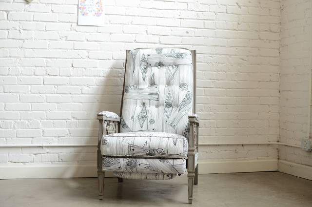 faux bois chair :  knackstudios.com: Chairs Pin, Chairs Knackstudio Com, Winter Nests Chairs 1, Faux Boi, Fauxboi Chairs, Fabrics Chairs, Cool Chairs, Baby Nurseries, Nests Fauxboi
