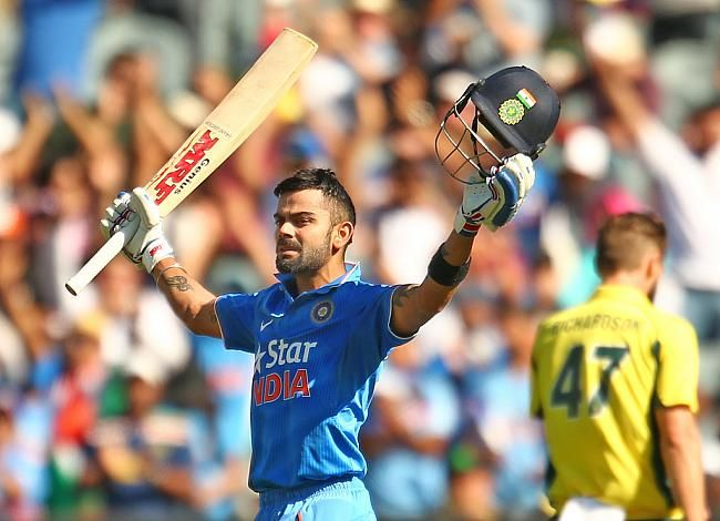 Virat Kohli became the quickest to get to 24 ODI tons