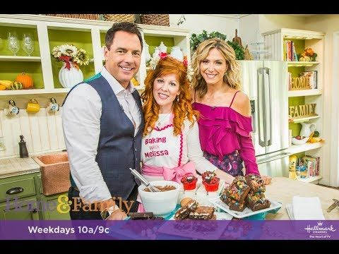 Baking with Melissa on The Home and Family Show on the Hallmark Channel ...You are going to want to make this delicious Mississippi Mud Cake for your holiday parties!
