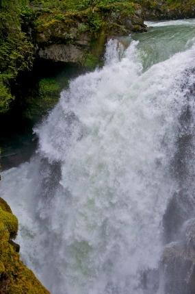Nooksack Falls  Mt Baker scenic byway