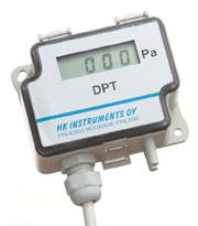 PRESSURE SWITCHES - Differential pressure transmitters or airflow with display  DPT-FLOW  Pressure or airflow viewing screen (depending on the K value of the fan, characteristic of each model and manufacturer)  Apt for non aggressive air and gas  Output signal 0...10 V  www.airtecnics.com