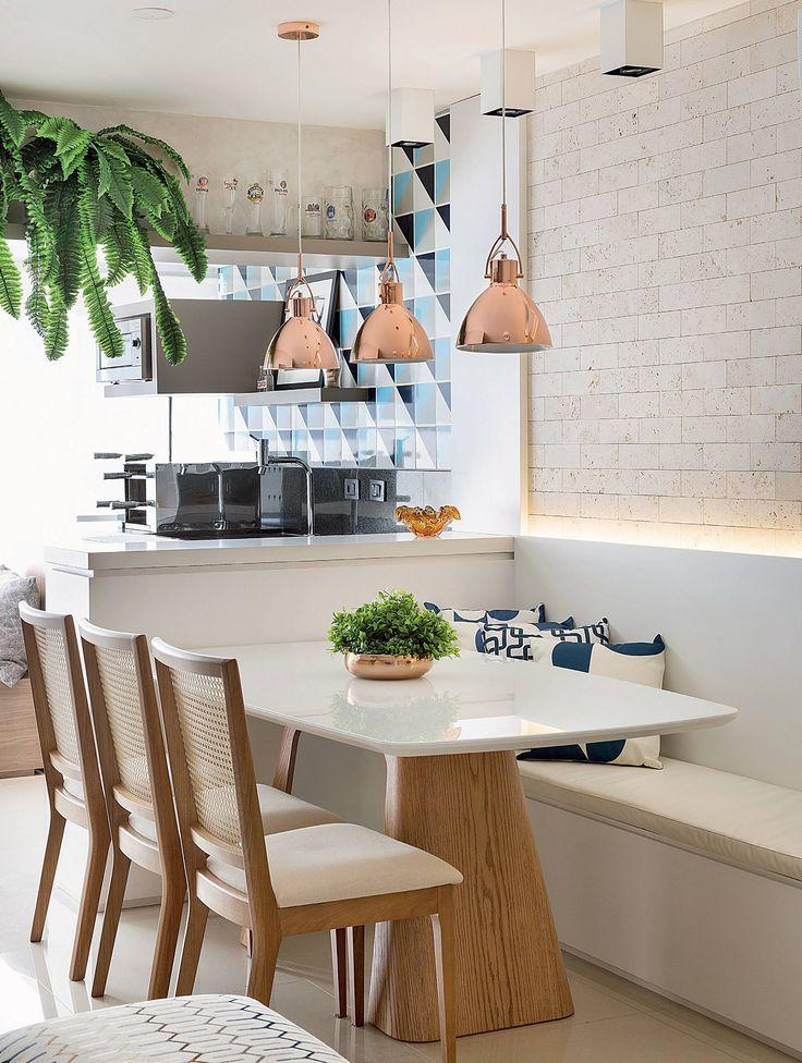 Apartamento de 65 m² projetado para receber amigos | Minha Casa