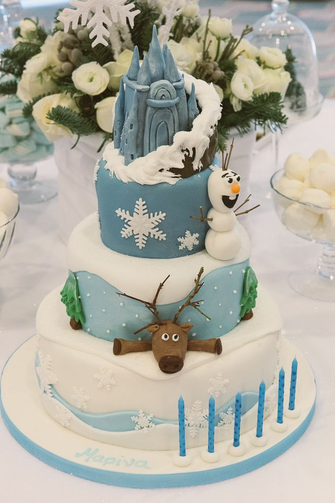 Fantastic Frozen Birthday Cake