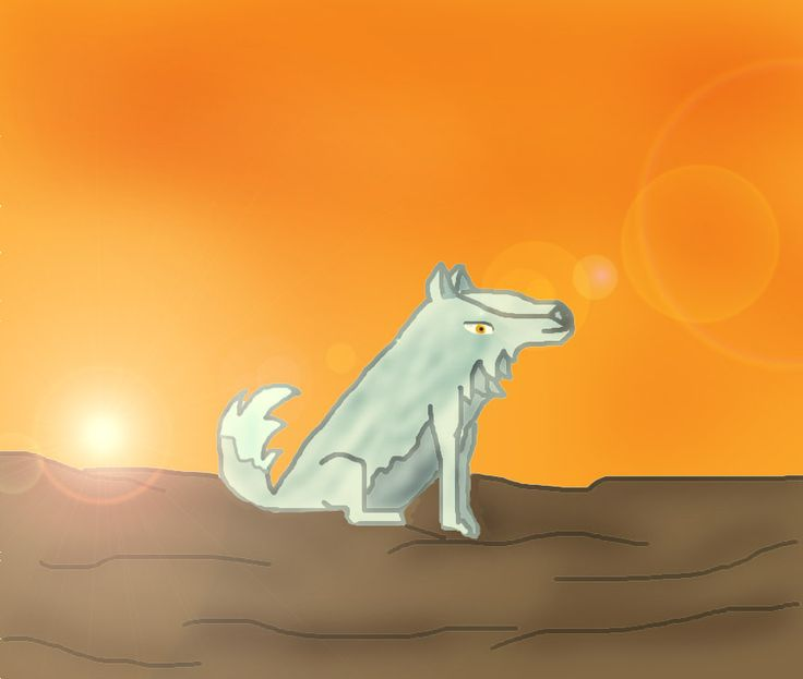 Wolf?! Hahahaha! ... I can´t draw animals... -_-