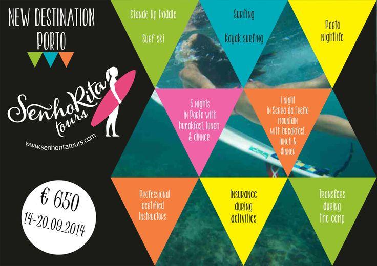 Surf& Trekking camp in PORTO - Best European Destination 2014