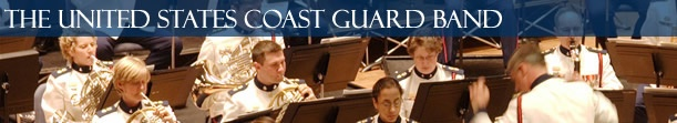 Want to see the U.S. Coast Guard Band. Check out their schedule for more information.