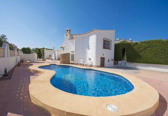 Belle Villa De Vacances Avec Piscine Privee A Calpe Costa Blanca
