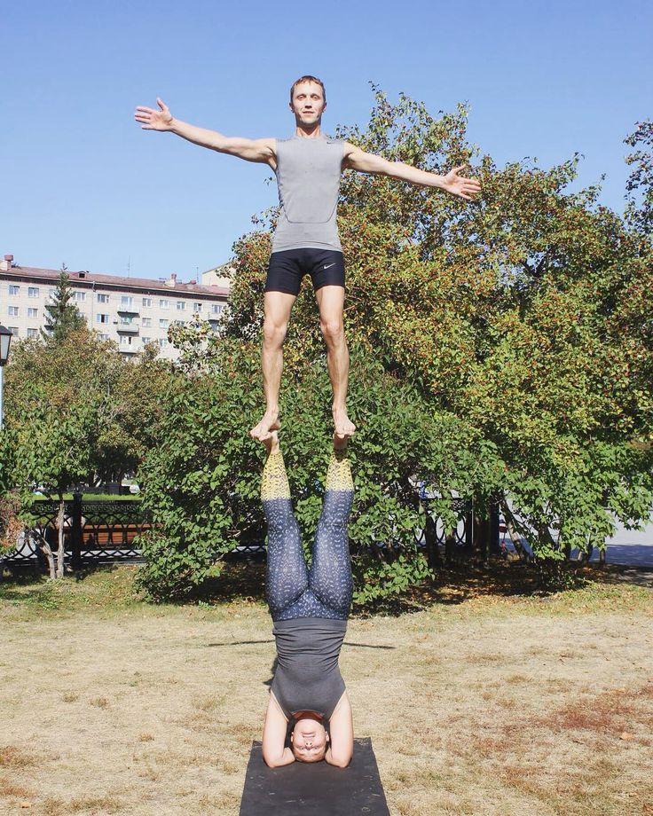 Таки да! Давно хотела сделать этот баланс! #стойканаголове #акро #акробатика #акройога #акройогавсибири #новосибирск #йога #тренировка #доверие #партнеры #парнаяйога #парнаяакробатика #йогавместе #йогавсегда #йогавезде #acro #acroyoga #acriyogainsiberia #yoga #acrobatics #training #acrofun #acroplay #yogatogether #yagaeveryway #yogaeveryday  #отдых #баланс #акробаланс #этосибирьдетка