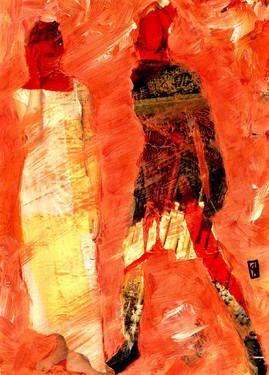 "Saatchi Art Artist CRIS ACQUA; Collage, ""90-CRIS ACQUA Collagemania."" #art"
