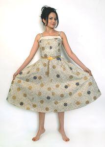 Vintage Finds: 1940s Summer Garden Party Dress, by Jennifer Nicole Sullivan, Image: Jacqueline Marque, Newport Mercury