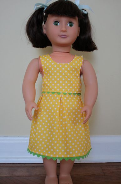 Springfield Collection Dolls: Make It Yourself Monday: Free 18-inch Doll Patterns Online
