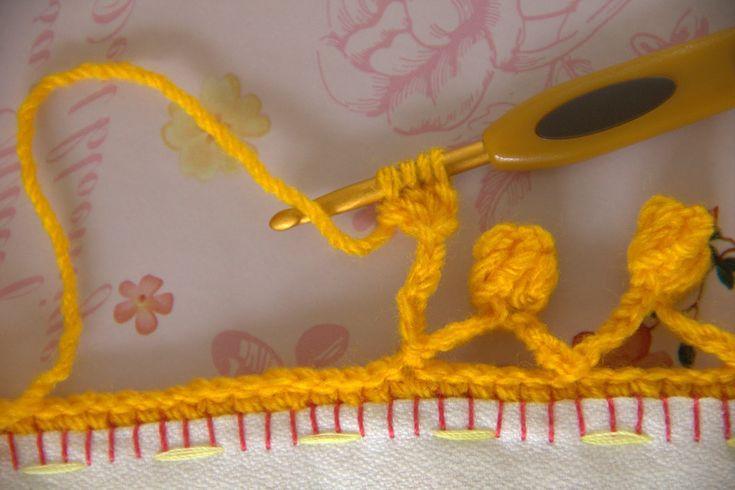 Crochet Edging - Tutorial