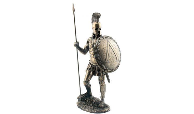 Spártai harcos lándzsával - Spártai karakterek - 64group