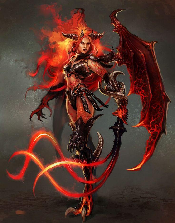 Герои демон картинки