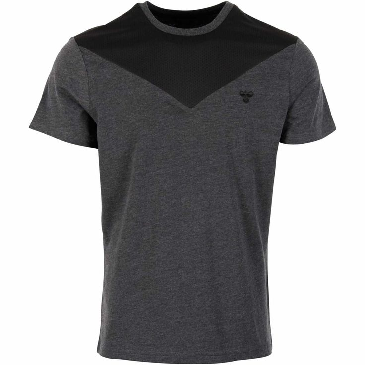 Køb Hummel Rico T-shirt - Herre i Grå online  str. XL