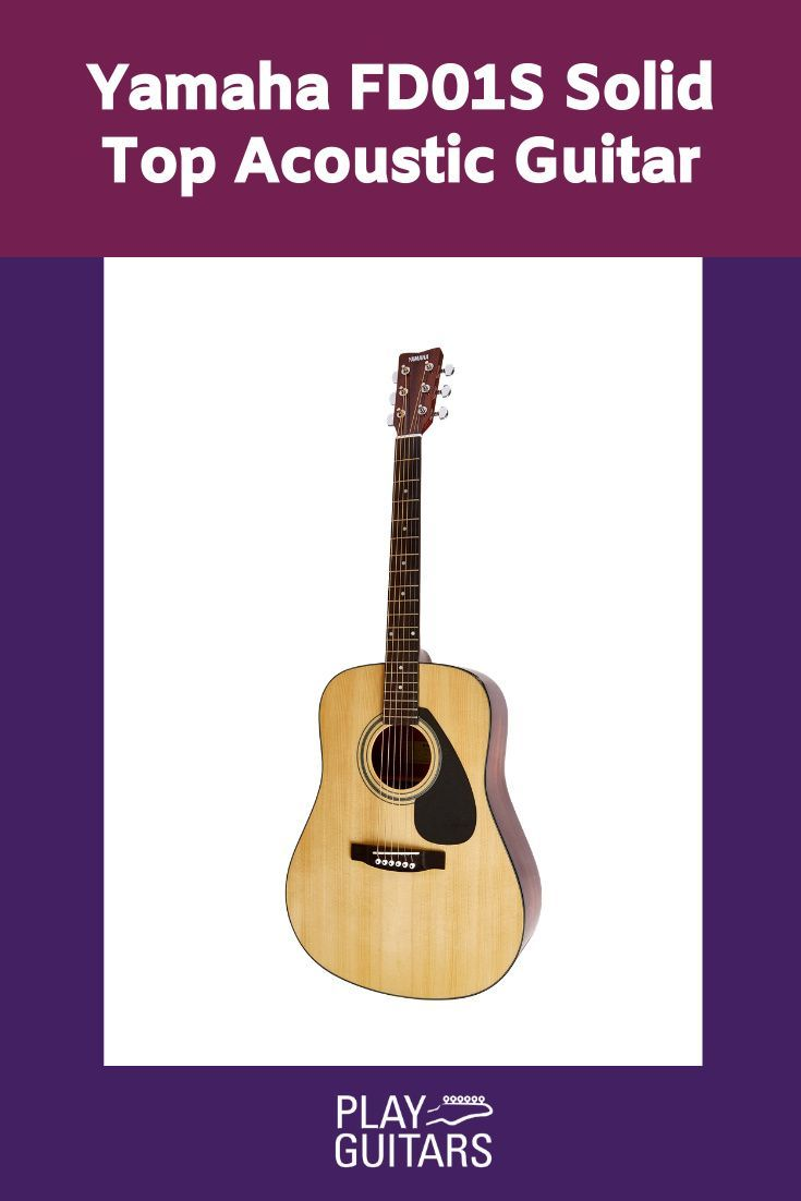Yamaha Fd01s Solid Top Acoustic Guitar Guitar Acoustic Guitar Acoustic