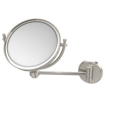 Allied Brass Universal Extendable Mirror Magnification: 4x, Finish: Polished Nickel