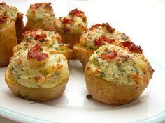 Fyldte kartofler
