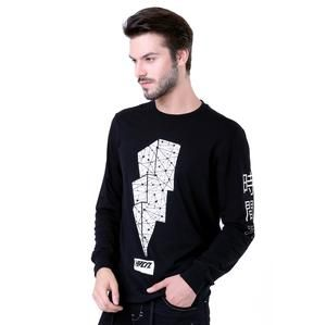 Kaos Lengan Panjang Pria Casual Harian [H 0007] (Brand HRCN) Original Bandung