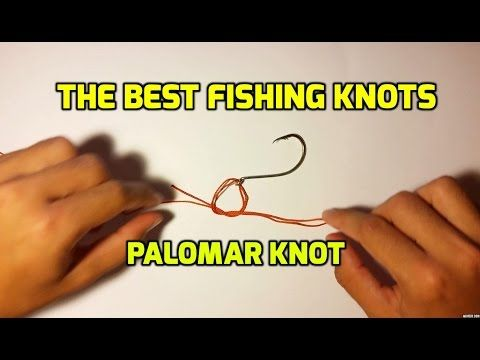 The Best Fishing Knots - Palomar Knot - Very Strong Knot - (More info on: https://1-W-W.COM/fishing/the-best-fishing-knots-palomar-knot-very-strong-knot/)