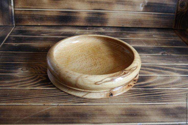 Купить Деревянная тарелка из капа бука - бежевый, посуда, посуда из дерева, Деревянная посуда, тарелка