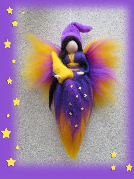 Hadas de bringer de Sweet Dream aguja de fieltro por LivelySheep