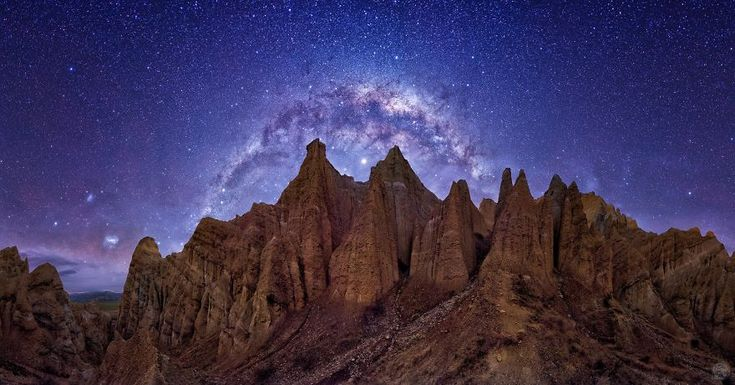 Le magnifique ciel de nuit en hiver en Nouvelle Zélande  2Tout2Rien