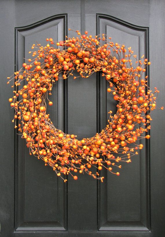 halloweeny wreath: Diy Home Decor, Decor Ideas, Fall Decor, Decoration Craft Ideas, Fall Ideas, Fall Wreaths, Decor Diy, Diy Fall Crafts